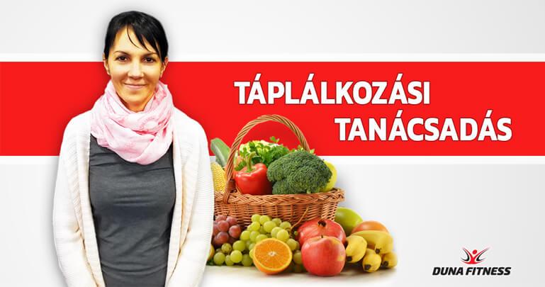 Táplálkozási tanácsadás a Duna Fitness-ben - ahol a test..