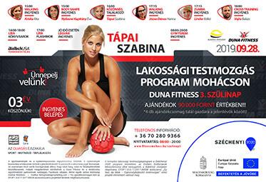 Duna Fitness Nyílt Nap - 3. szülinap