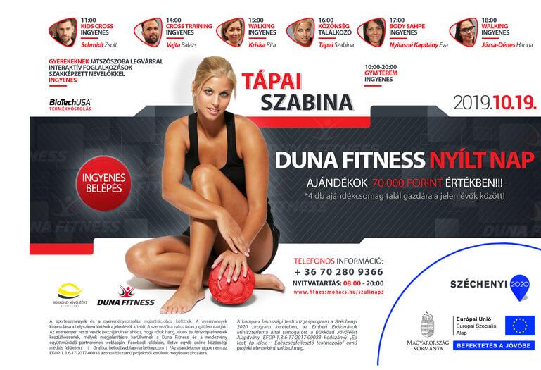 duna fitness nyílt nap