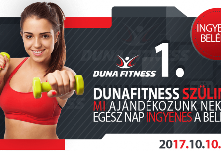 duna fitness 1. szülinap