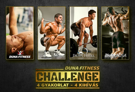 dunafitness challange kihívás