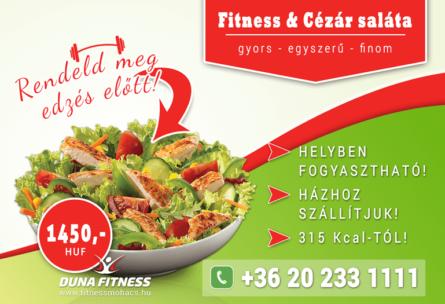duna fitness saláta