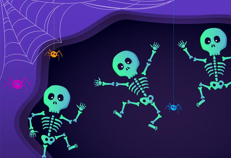 Halloween jump