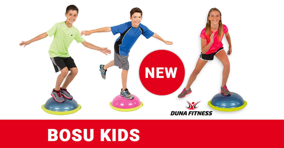 BOSU Duna Fitness Mohács csoportos edzés gyerekeknek Kids