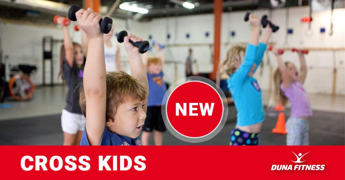 Cross KIDS Duna Fitness Mohács csoportos edzés gyerekeknek